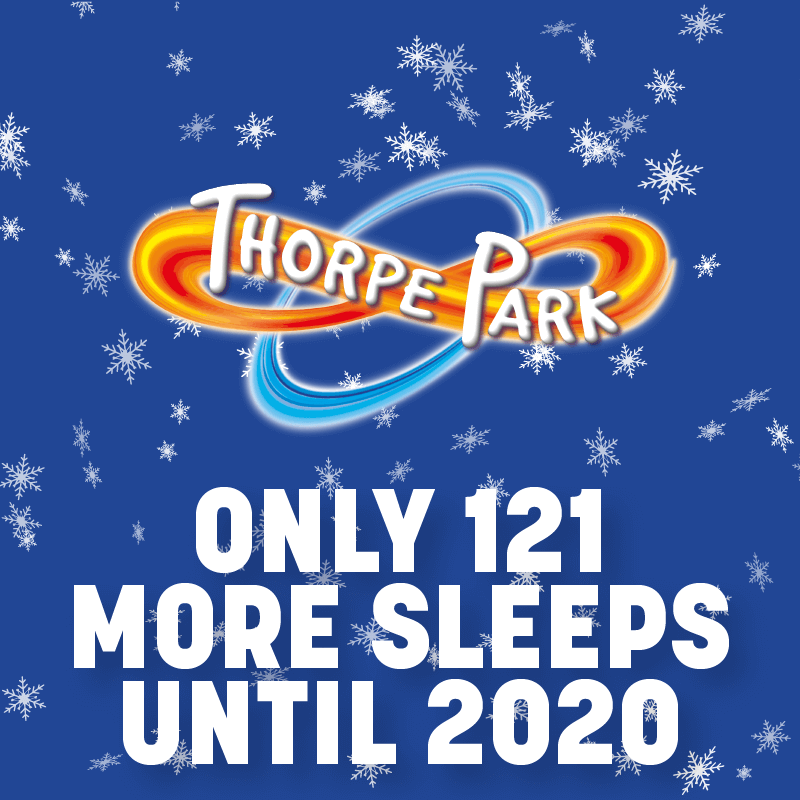Only 121 More Sleeps Until 2020