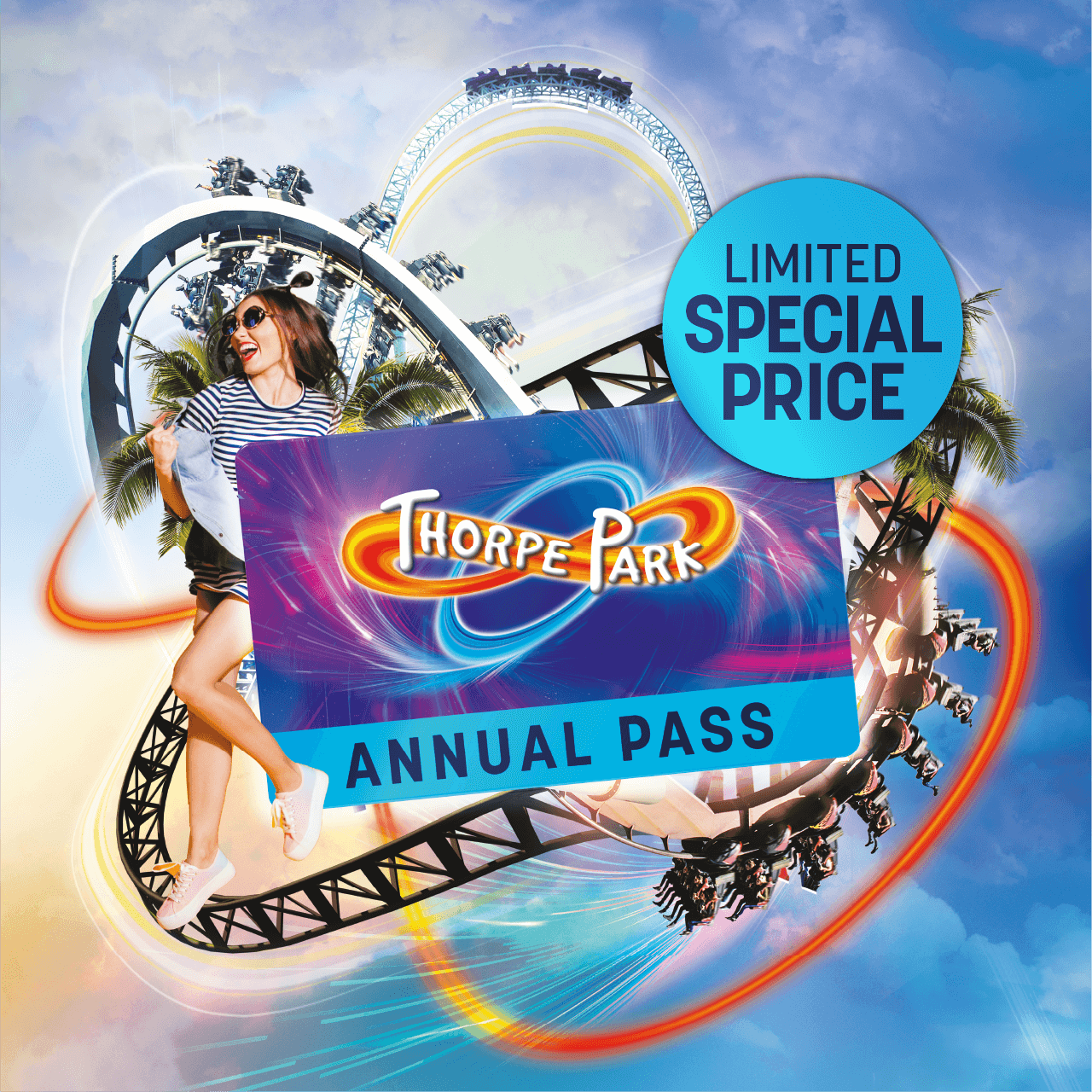 Theme Park Annual Pass Offer