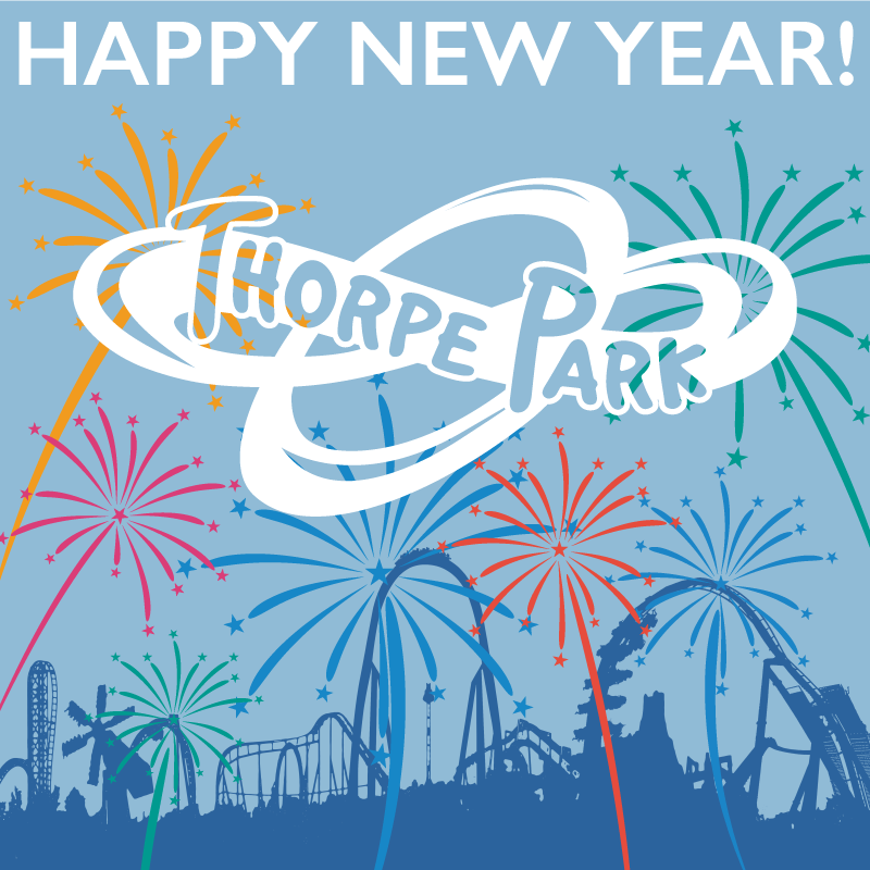 Happy New Year From Thorpe Park