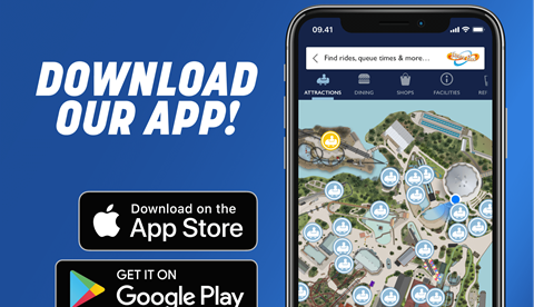 Thorpe Park App, Available On The App Store and Google Play