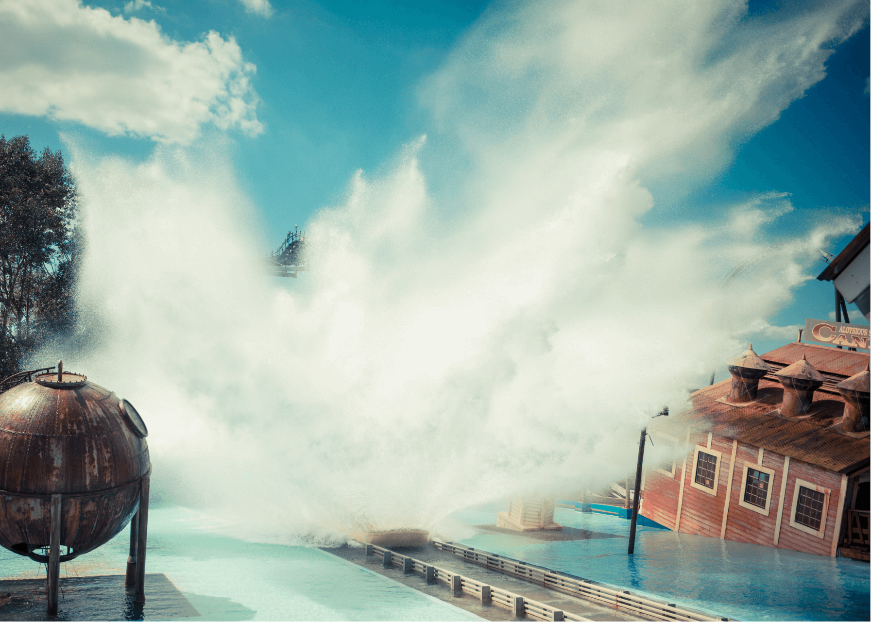 Tidal Wave Water Ride Splash