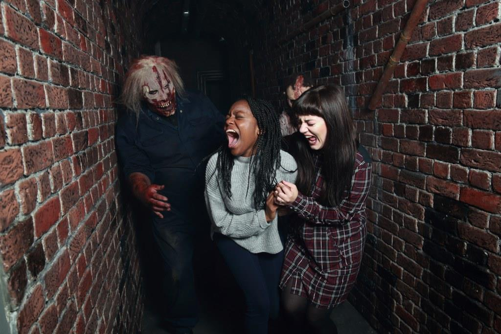 The Walking Dead Living Nightmare Horror Attraction, Walker Attacking Guests