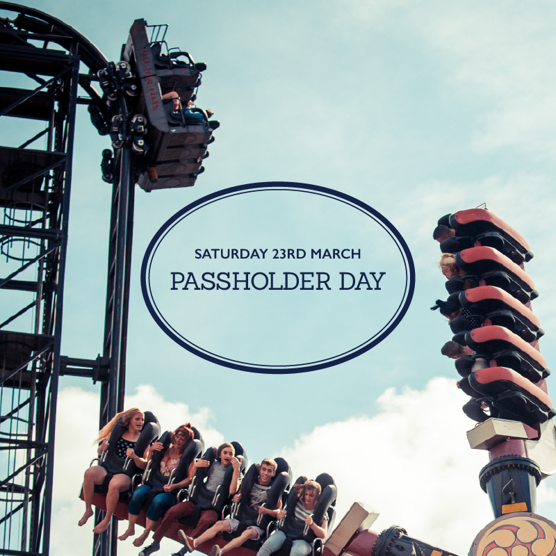 Passholder Day, Saturday 23rd March Promo