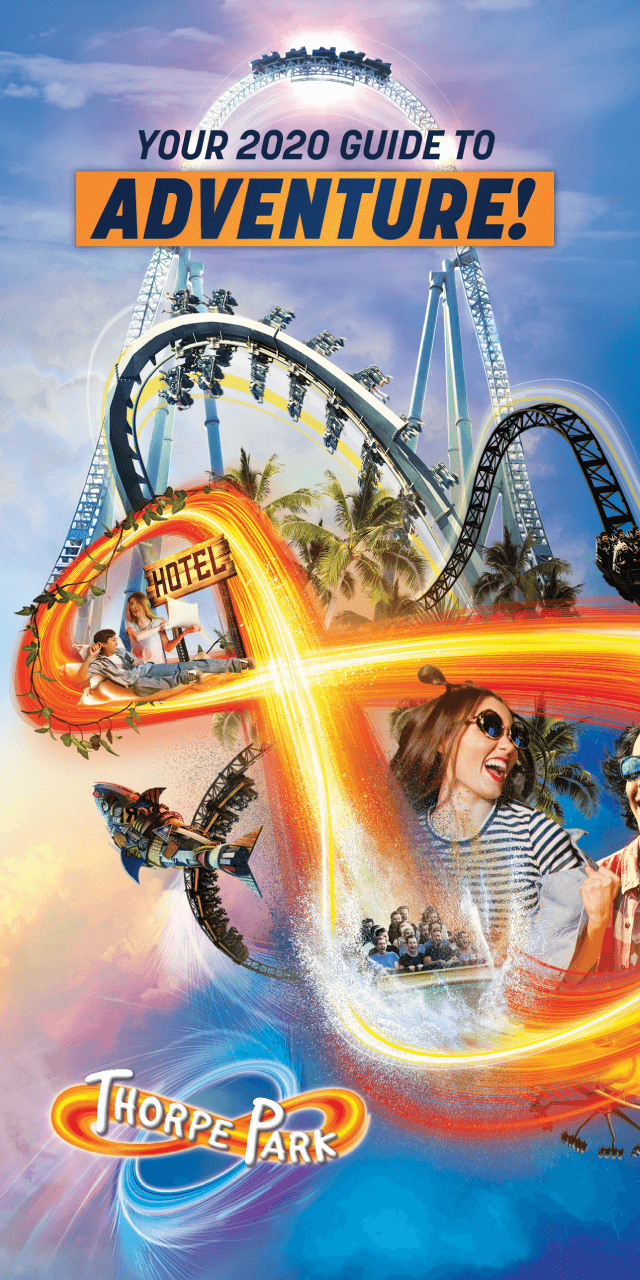 Thorpe Park Map Front Cover