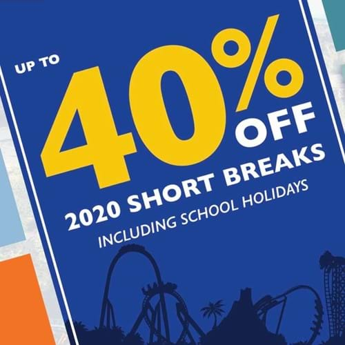 Up To 40% off 2020 Short Breaks