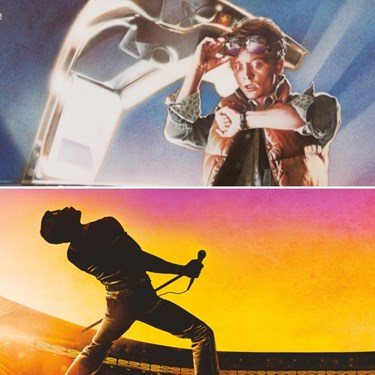 Luna Cinema Event, Back To The Future & Bohemian Rhapsody