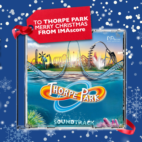 Thorpe Park Soundtrack CD by IMAscore