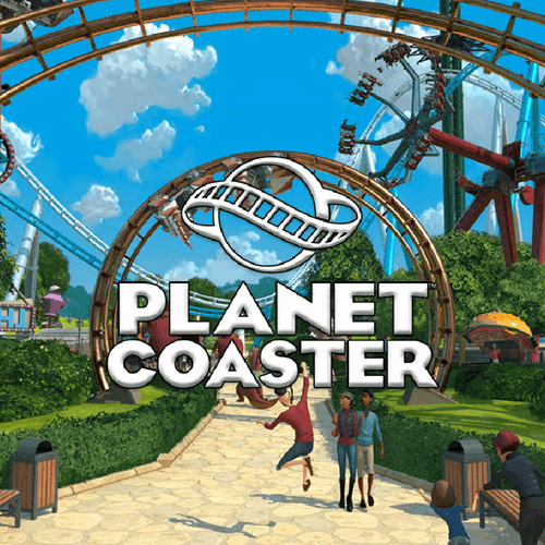 Planet Coaster Video Game Visual