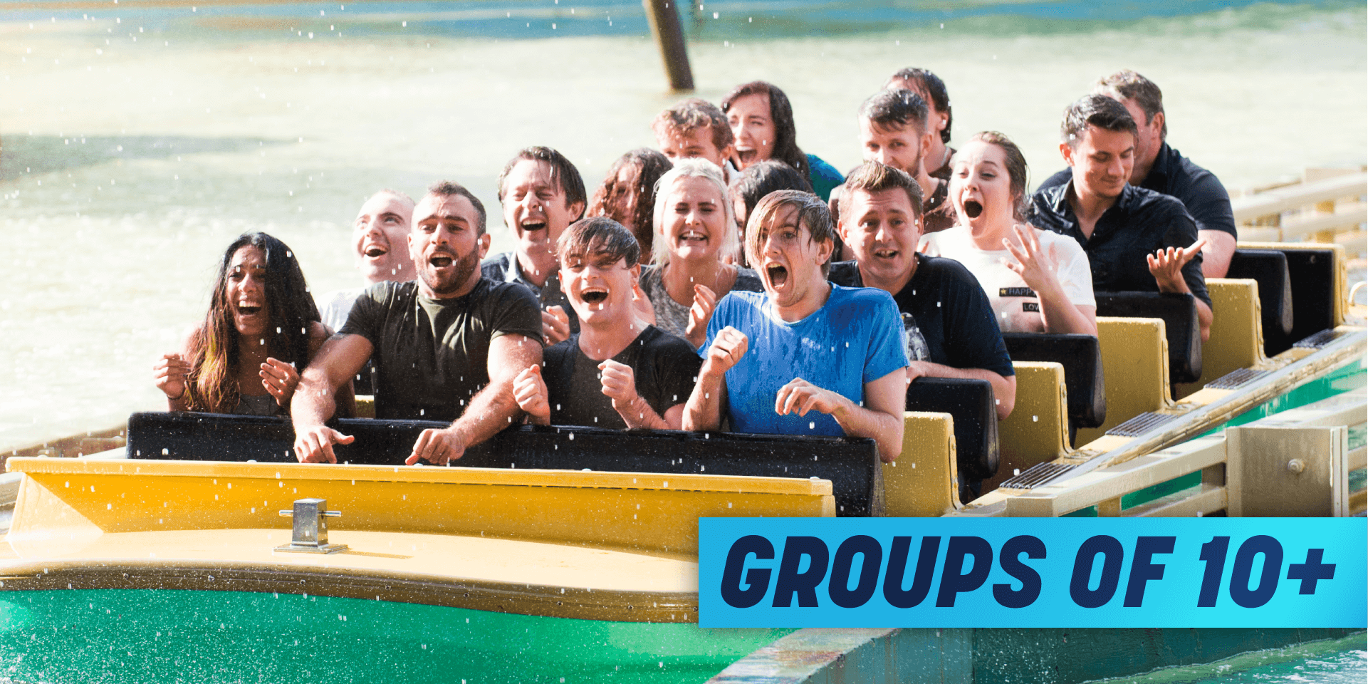 Groups of 10+ Theme Park Group Deal