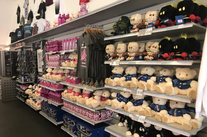Thorpe Park Megastore Interior Teddy Bears