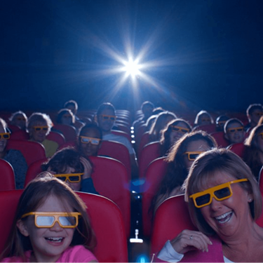 Angry Birds 4D Cinema Thorpe Park, Guests Laughing