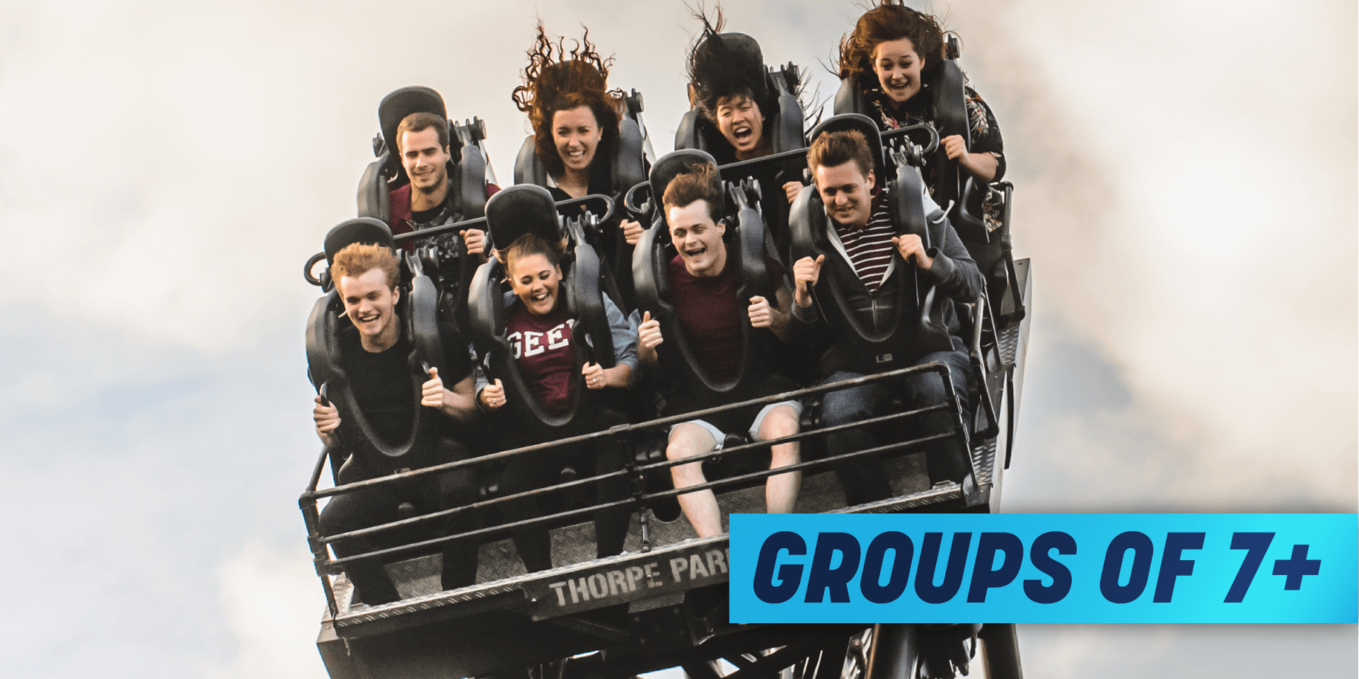Theme Park Group Discount groups of 7+