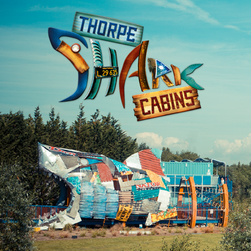 Thorpe Shark Cabins Entrance