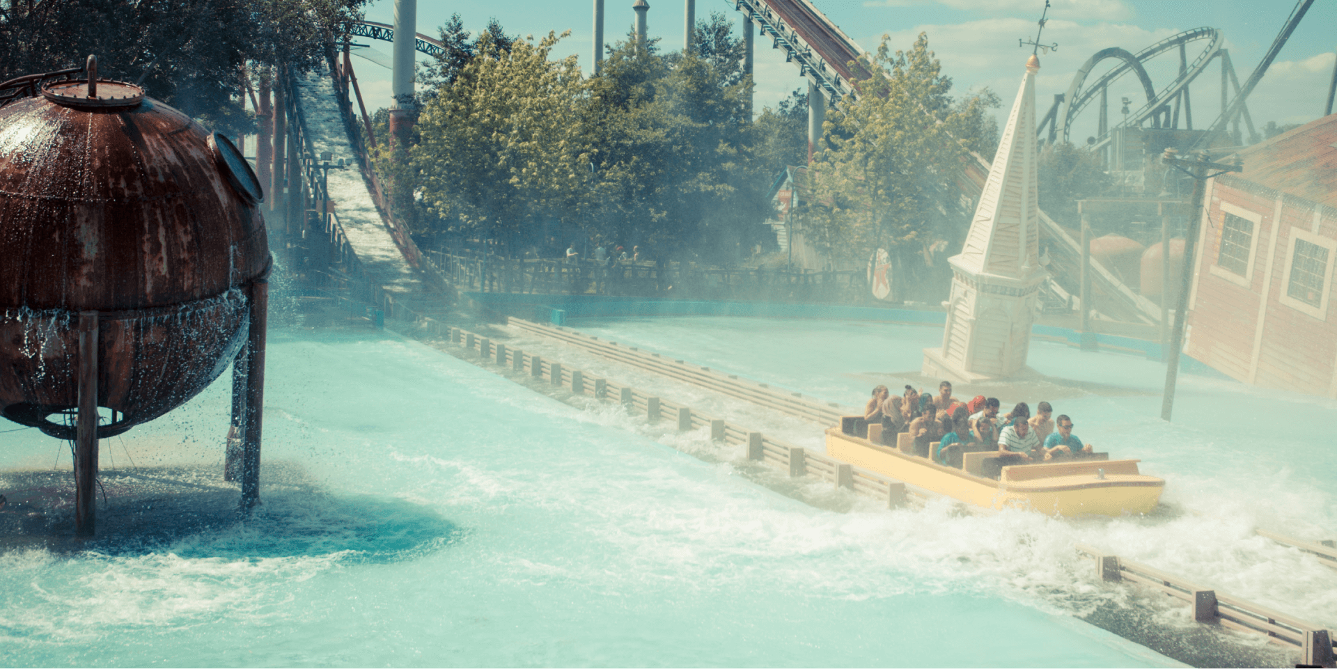 Tidal Wave Water Ride