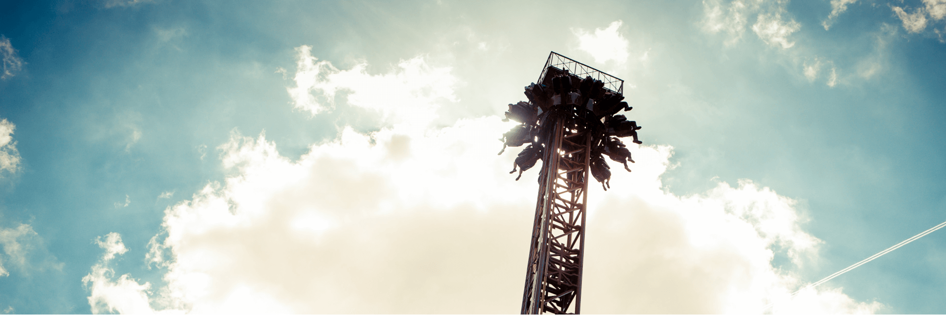 Detonator Drop Ride Silhouette