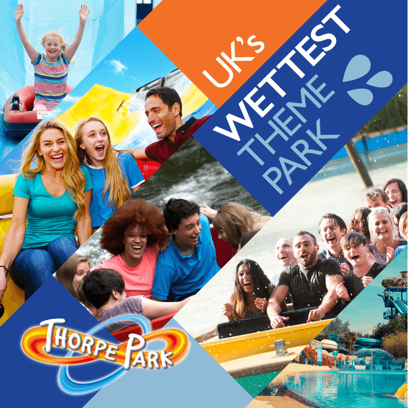 Uk'S Wettest Theme Park Promo Thorpe