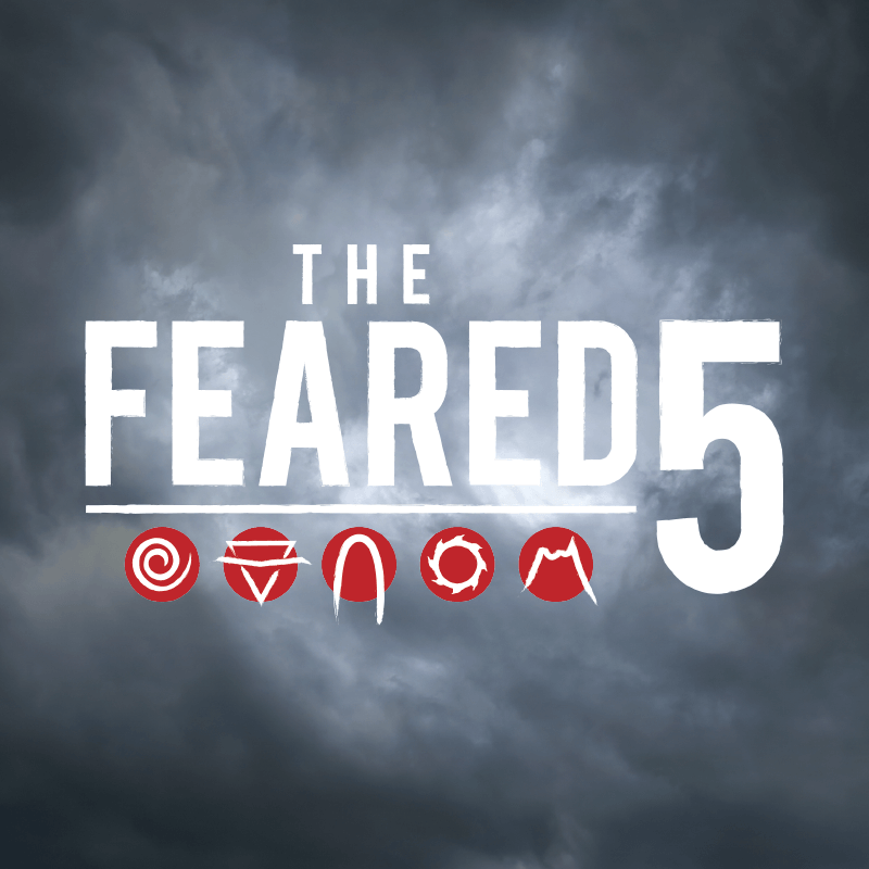 Feared 5 Rollercoaster Challenge Logo