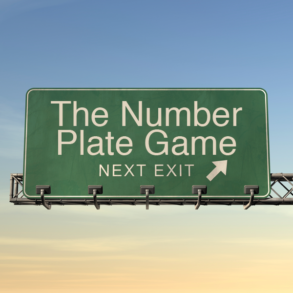 The Number Plate Game