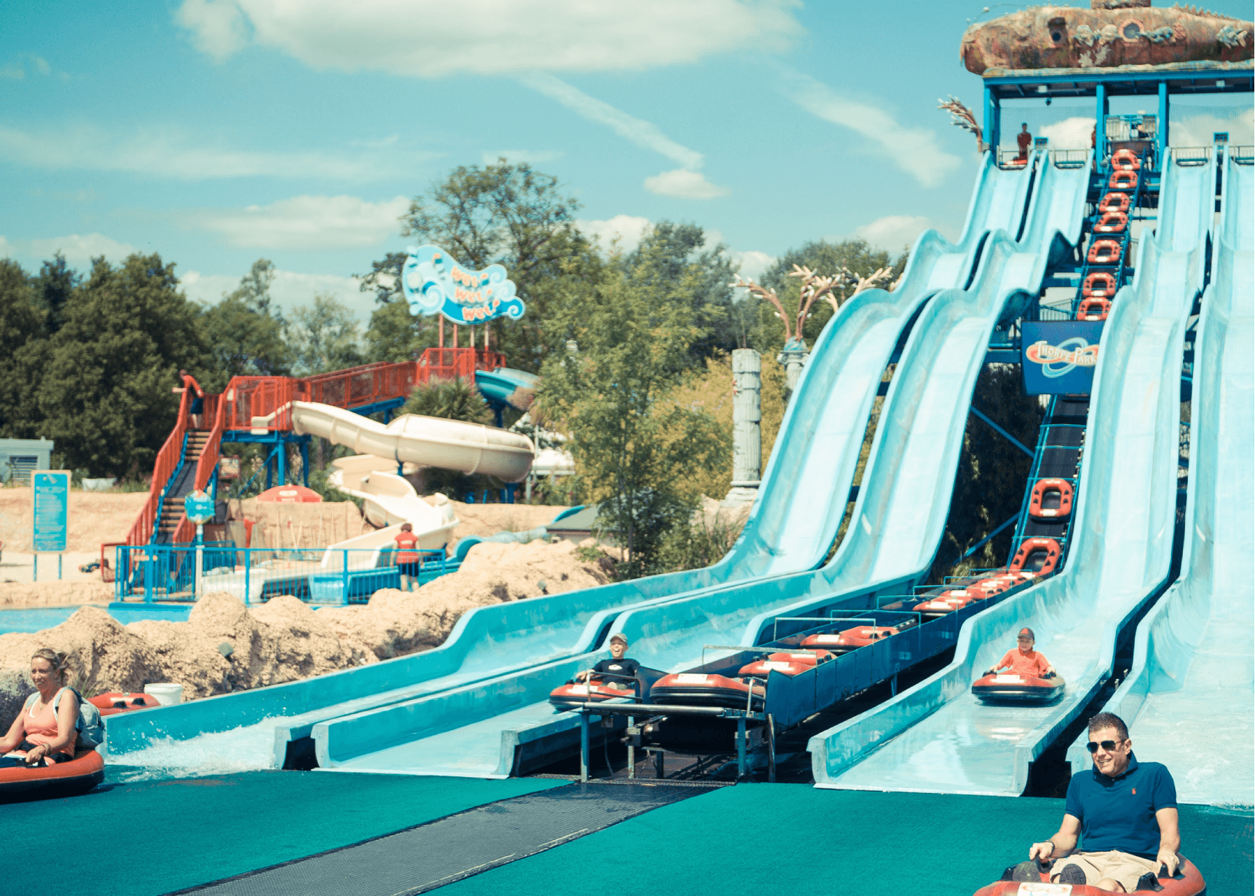 Depth Charge Water Slides Overview