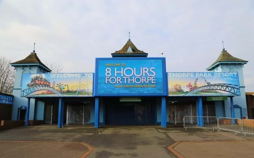 8 Hours For Thorpe Entrance