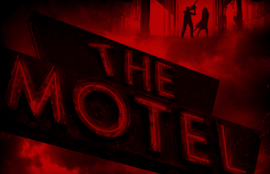 Studio 13 Halloween Scaremaze , Motel Sign