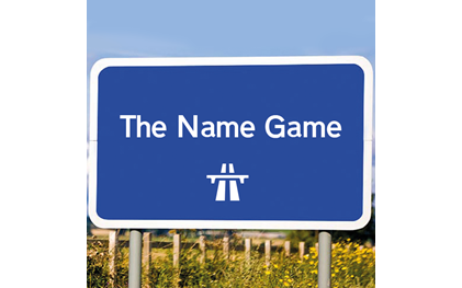 The Name Game Car Game