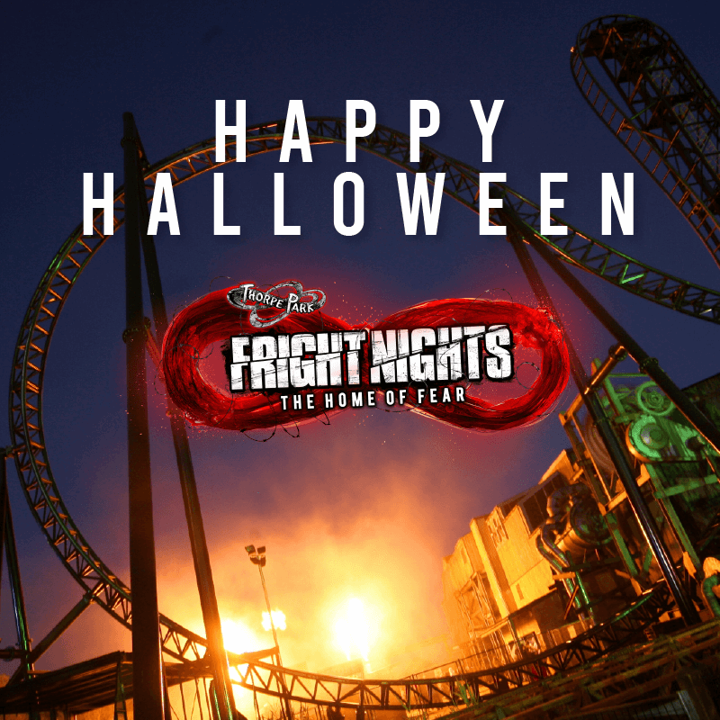 Happy Halloween From Thorpe Park!