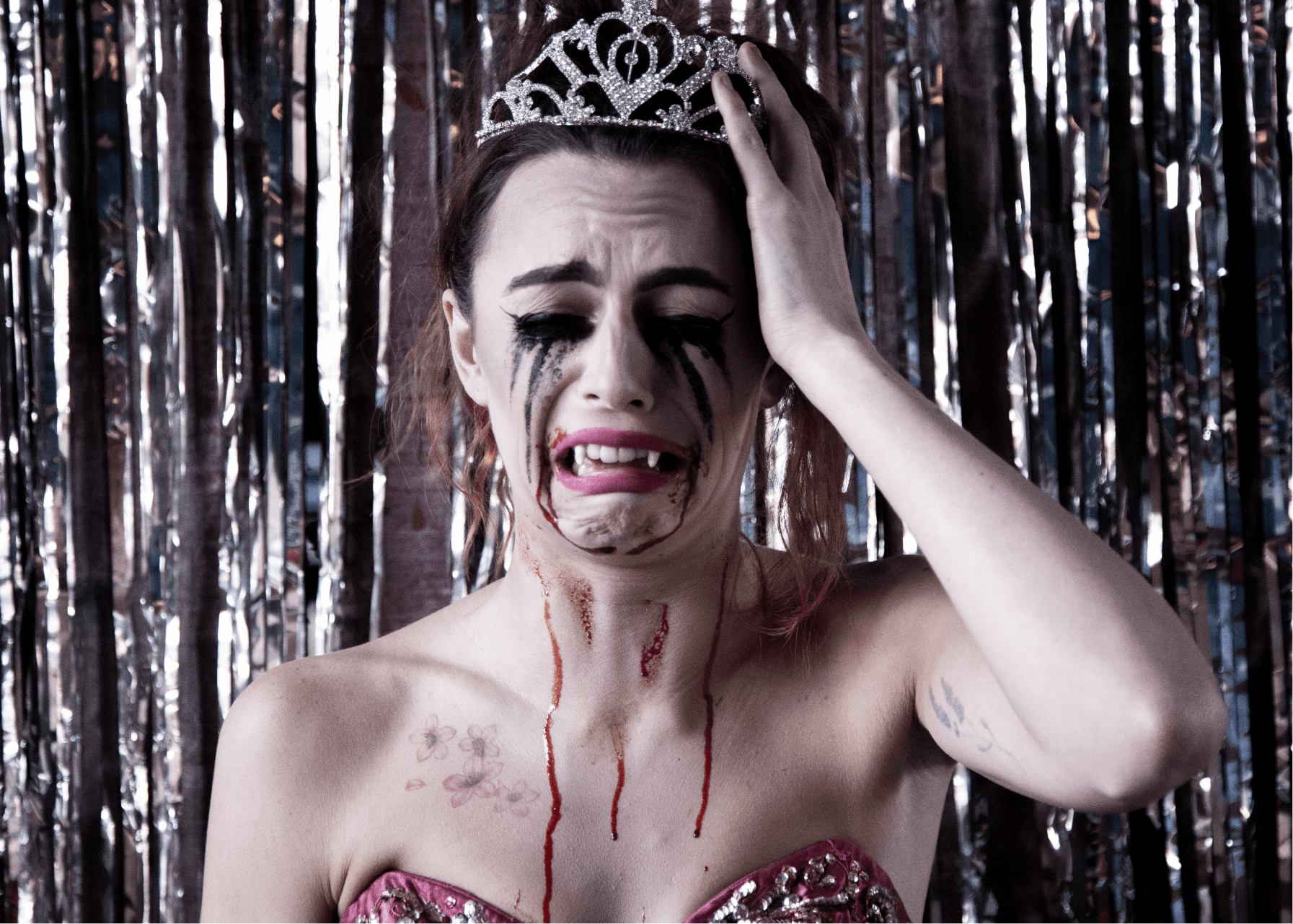 Amity High Halloween Show Crying Vampire Prom Queen
