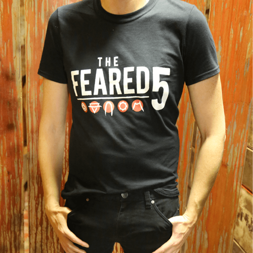 Fright Nights Feared 5 Logo Shirt