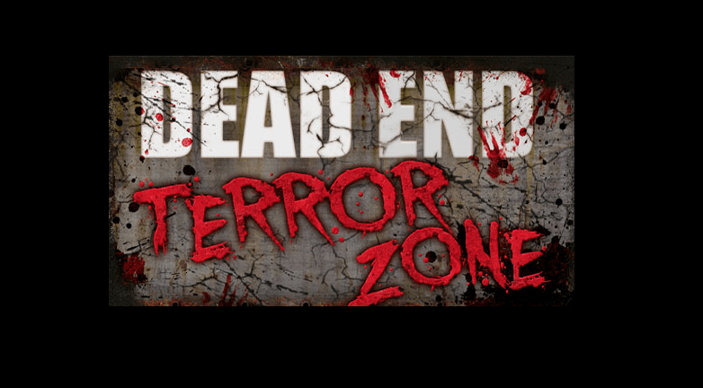 Dead End Terror Zone Halloween Attraction Logo