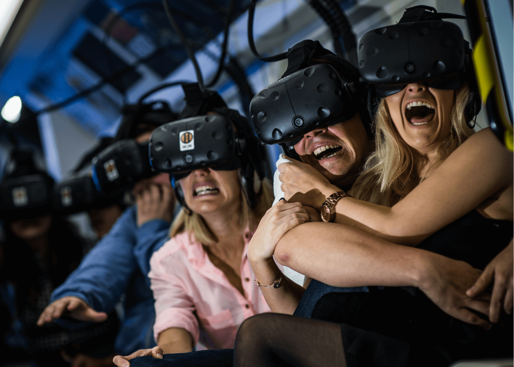 Derren Browns Ghost Train VR Tube Train Guests